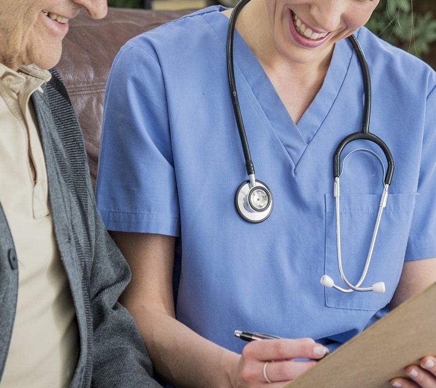 infirmiere soins domicile curtius